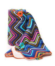 Baby Blanket with Fleece lining in Margherita