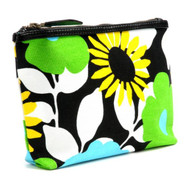 Travel & Cosmetic Purse in Bloom Blue
