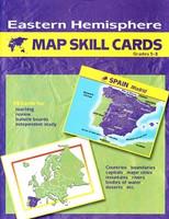 Eastern Hemisphere 5-8 Map Skill Flashcards Set