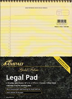 AMPAD Gold Fibre Legal Pad