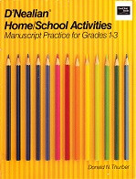 D'Nealian Home, School Activities: Manuscript, Grades 1-3rd
