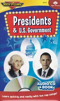Presidents & U.S. Government Audio CD & Book Set