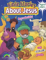 Bible Stories About Jesus, Ages 4 & 5