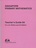 Singapore Primary Mathematics 6A, Teacher Guide
