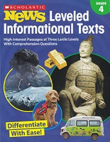 Leveled Informationl Texts, Grade 4