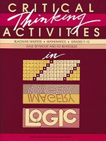 Critical Thinking Activities in Patterns, Imagery and Logic