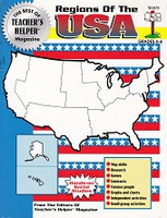 Regions of the USA, workbook