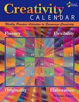 Creativity Calendar, Weekly Creativity Activities