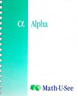 Math-U-See Alpha 1, Teacher Manual & DVD Set