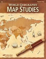 World Geography 9, Map Study Key