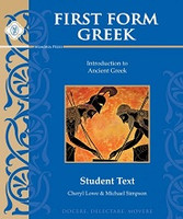 First Form Greek, Intro to Ancient Greek, student text