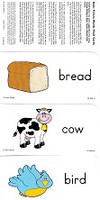 Basic Picture Words Flash Cards Set