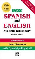 Vox Compact Spanish and English Dictionary. 2d ed.