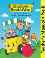 Sing, Spell, Read & Write Pre-K Parts & Teacher Manual