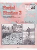 Social Studies 3 LightUnits 303-4 & 305-6 Set, Sunrise Ed.