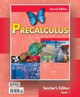 PreCalculus, 2 Volume Teacher Edition Set