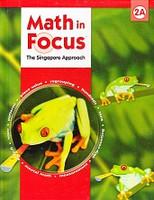 Singapore Math: Math in Focus 2A, Text & Teacher Edition