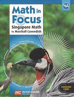 Singapore Math: Math in Focus 4A, Student Text