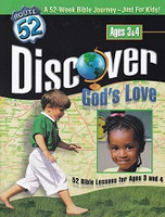 Route 52: Discover God's Love 52-Week Bible Lessons