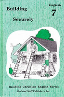 English 7: Building Securely, student