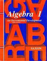 Saxon Algebra 1, 3d ed., Solutions Manual
