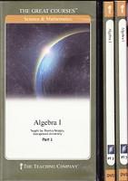 Algebra 1, 6 DVD & Study Workbook Set