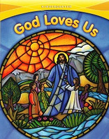 God Loves Us, K Set, workbook & School Edition