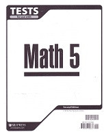 Math 5, 2d ed., Tests