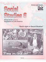 Social Studies 6, LightUnits 609-610, Sunrise Edition Set