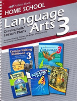 Language Arts 3 Curriculum & Lesson Plans Book