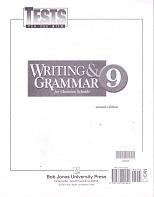 Writing & Grammar 9, 2d ed., Tests