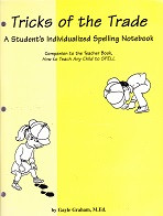 Tricks of the Trade Individualized Spelling Notebook