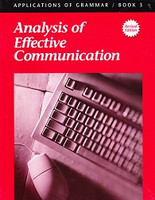 Grammar 9: Analysis of Effective Communication, workbook