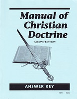 Manual of Christian Doctrine, 2d ed., Answer Key