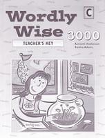 Wordly Wise 3000, Book C, Teacher Key
