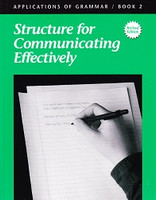 Grammar 8: Structure for Communicating Effectively, workbook