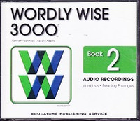 Wordly Wise 3000, Book 2, 2d ed., Audio Recordings