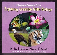 Apologia Exploring Creation with Biology 1st ed. CDRom