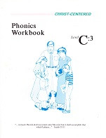 Christ-Centered Phonics Workbook & Key Set, Level C:3