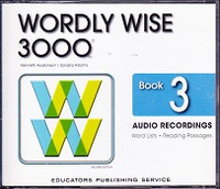 Wordly Wise 3000, Book 3, 2d ed., Audio Recordings