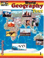 World Geography 9-12, PACs & Activities 1