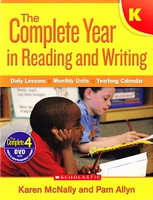Complete Year in Reading and Writing K, Daily Lessons