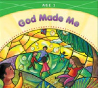 God Made Me, workbook, age 3