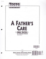 Bible Truths 1: A Father's Care, 3d ed, Tests & Test Key Set