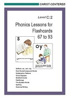 Christ-Centered Phonics Lessons for Flashcards 67-93