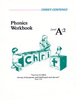 Christ-Centered Phonics Workbook, Level A:2