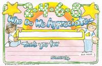 2-4-6-8 Who Do We Appreciate Awards