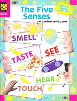 Five Senses: a Skill-builder activity book