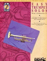 Canadian Brass Book of Easy Trumpet Solos, with CD