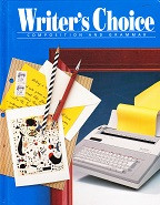 Writer's Choice Composition and Grammar 9, text